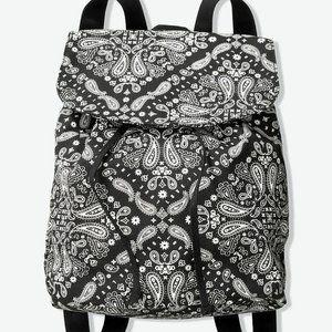 Victorias Secret Backpack Shoulderbag Paisley Blk